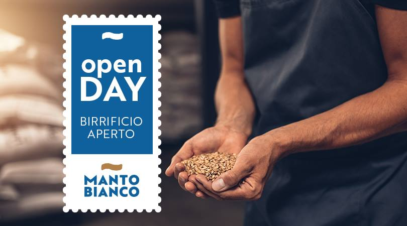 open day manto bianco